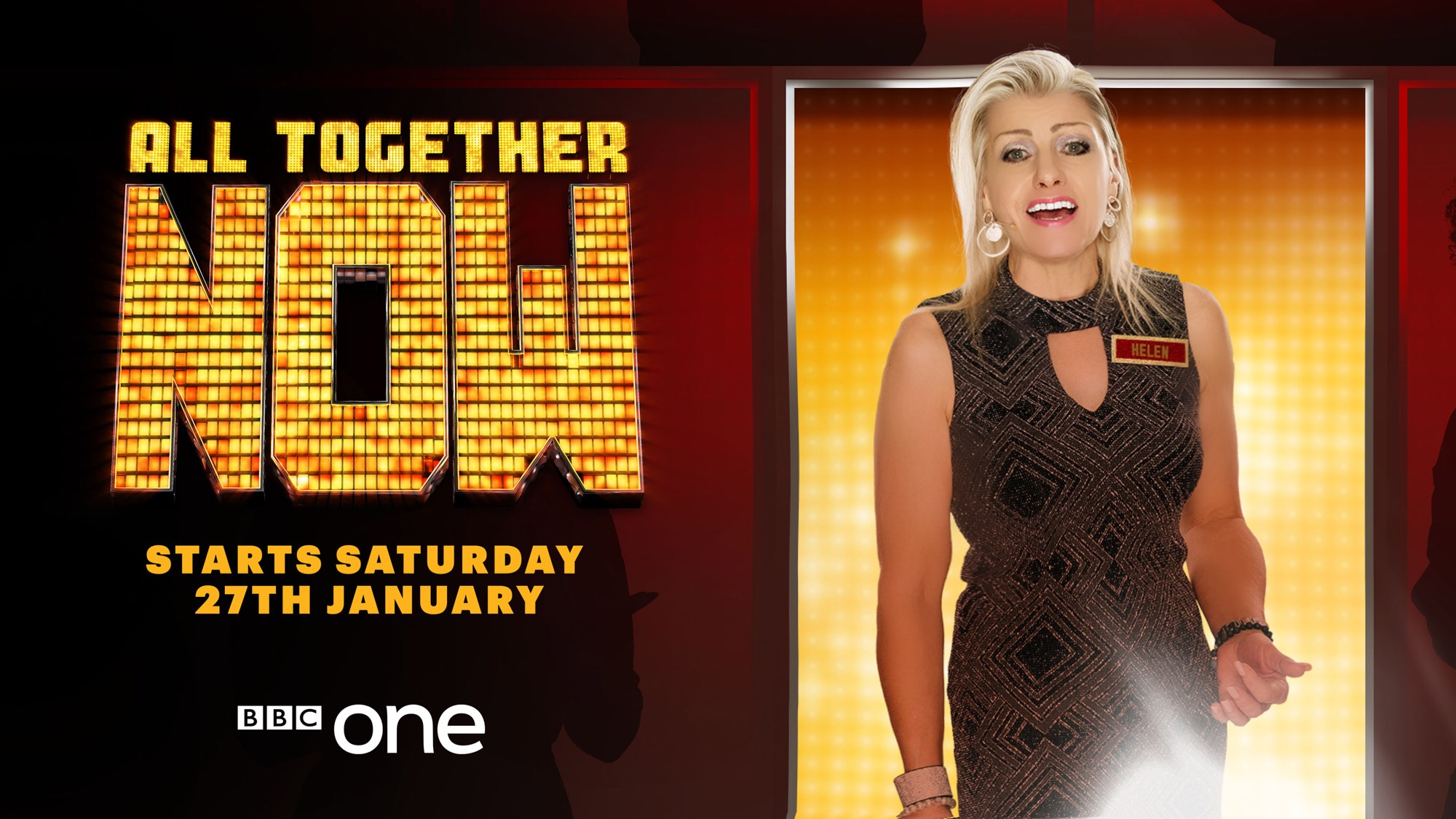 ALL TOGETHER NOW - Saturday Nights BBC1 7.15pm